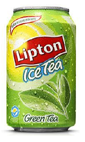 Foto Lipton Green Ice Tea (Blik, 33cl)