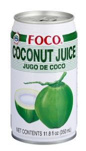 Foto Coconut sap (Blik, 33 cl)